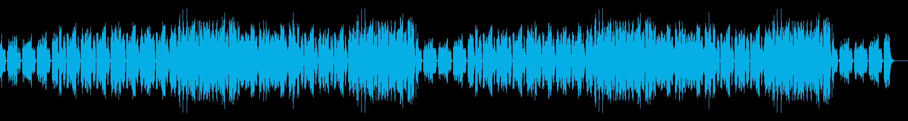 挑戦・奮起・気合/エレクトロミュージックの再生済みの波形