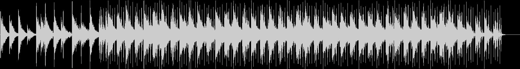 幻想的なインストの未再生の波形