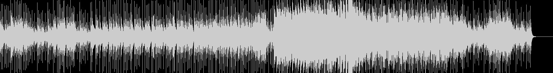 ポップで独特なバラードの未再生の波形