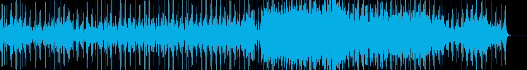 ポップで独特なバラードの再生済みの波形