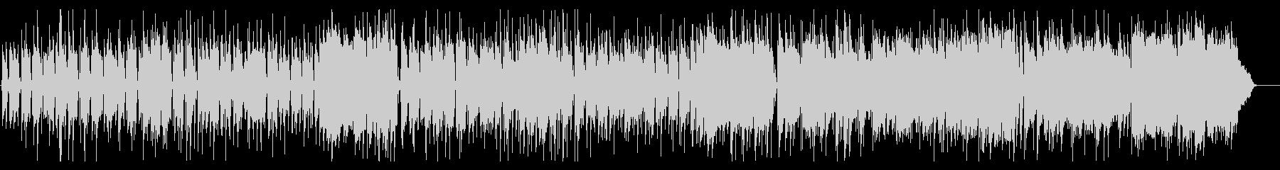 三拍子のピアノがメインのコミカルなBGMの未再生の波形