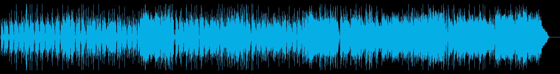 三拍子のピアノがメインのコミカルなBGMの再生済みの波形