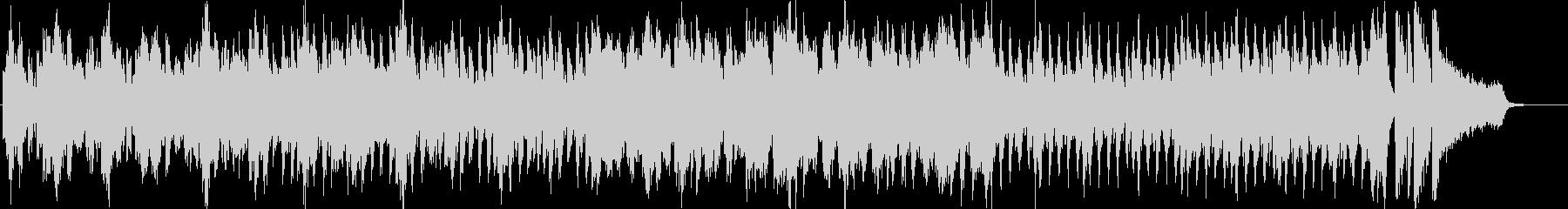 ピアノの軽快なポップスの未再生の波形
