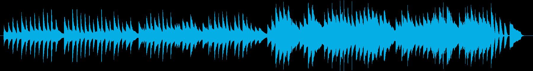 アルプス一万尺(ピアノカバー)の再生済みの波形