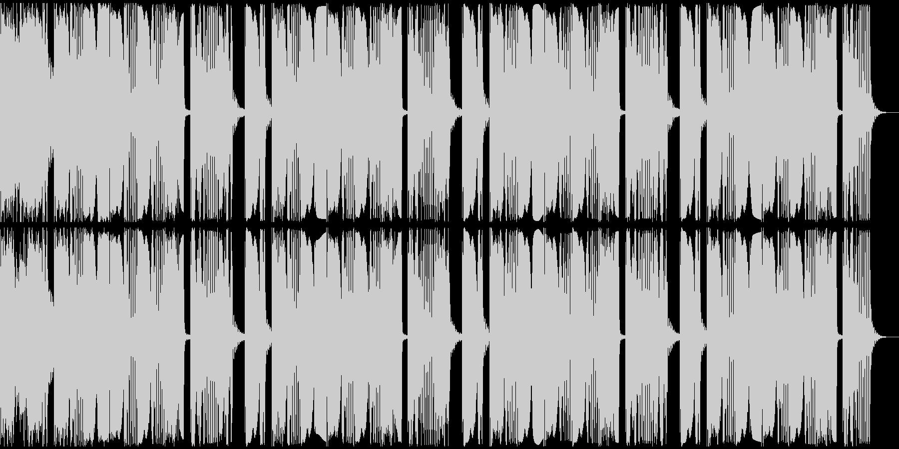 【アンビエント】ロング2、ショート4の未再生の波形