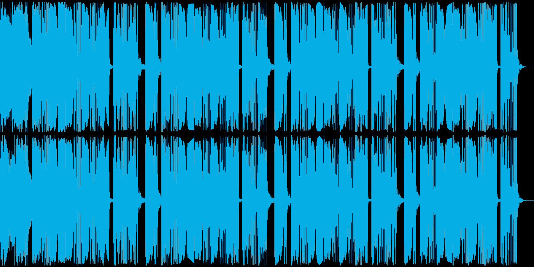 【アンビエント】ロング2、ショート4の再生済みの波形