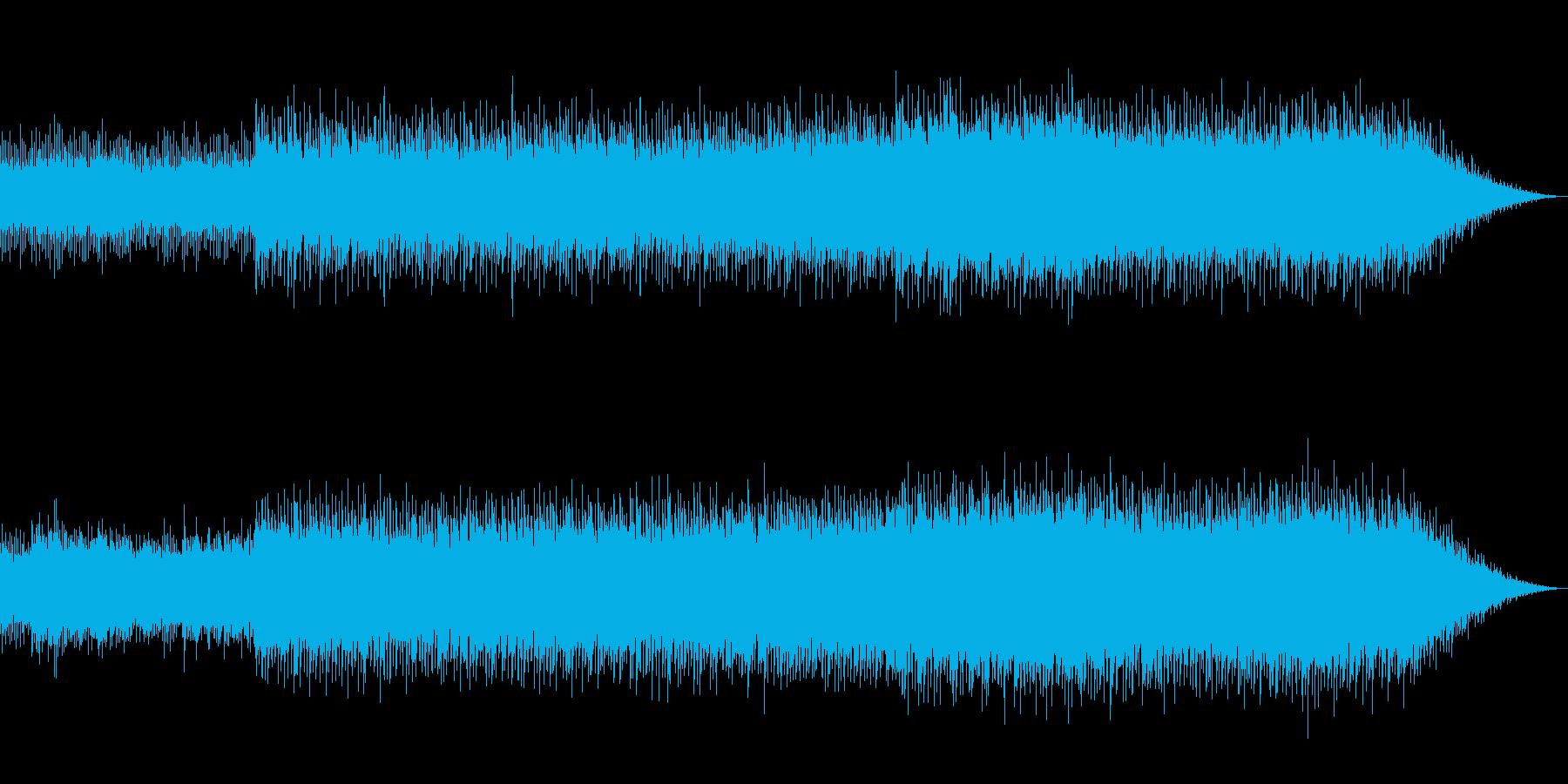 和風でスリリングなポップスの再生済みの波形
