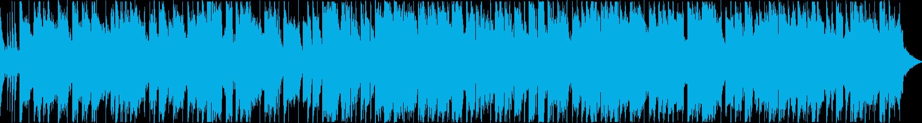 ジャズギターのスムースジャズ_ループ仕様の再生済みの波形