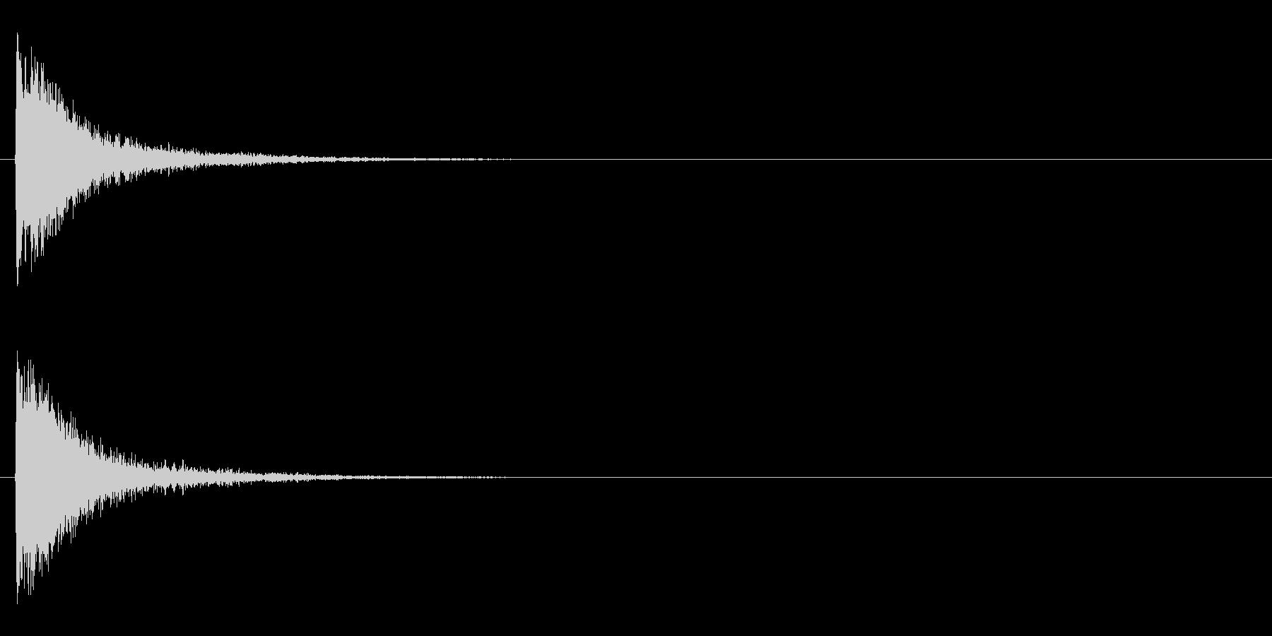 レーザー音-144-1の未再生の波形
