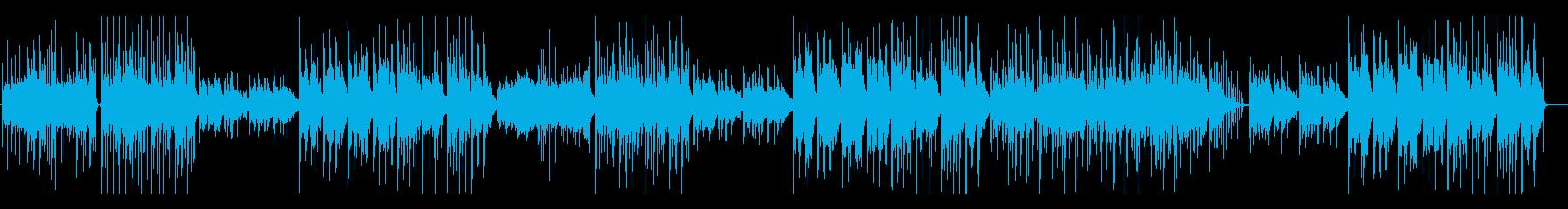 【生演奏】愛嬌のあるかわいいいポップスの再生済みの波形