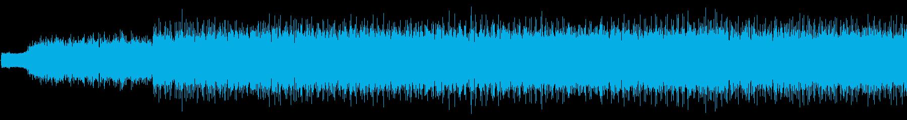 不気味な「ハロウィーン」タイプの配...の再生済みの波形