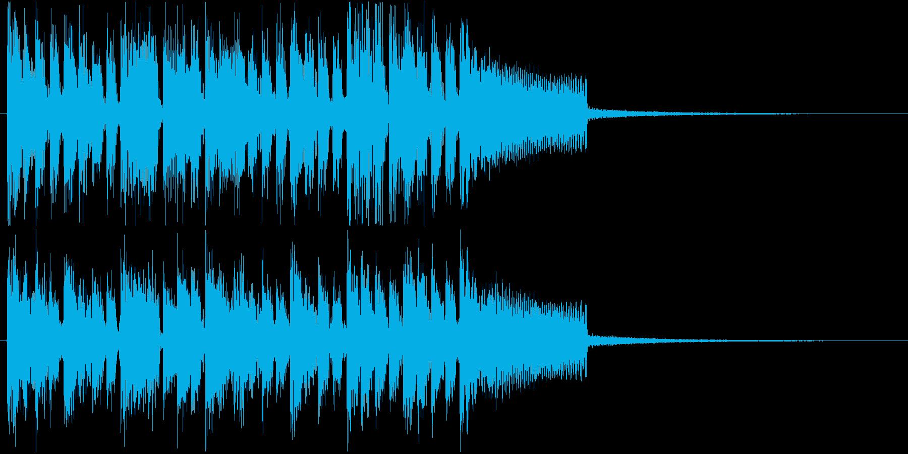 ジングル@EDM#3スタイリッシュの再生済みの波形