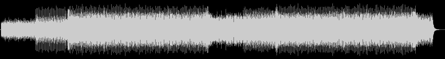コーポレートミュージック1の未再生の波形