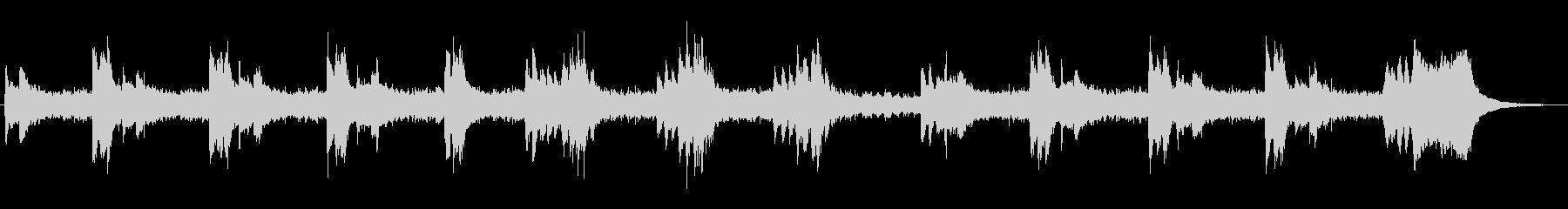 シンセによる奇妙なジングルの未再生の波形
