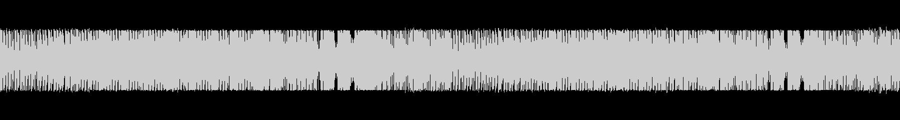 ゲーム用のBGMの未再生の波形