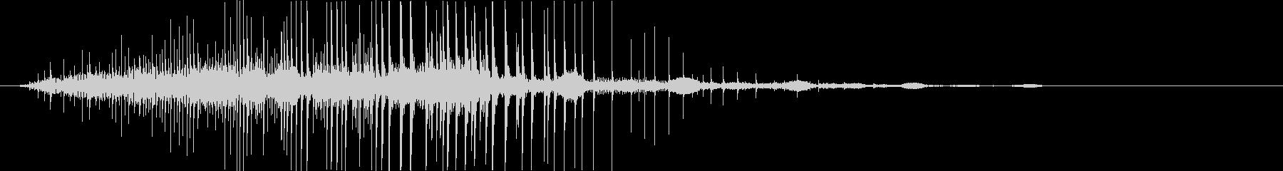 鋭い マーブルポットダーク07の未再生の波形