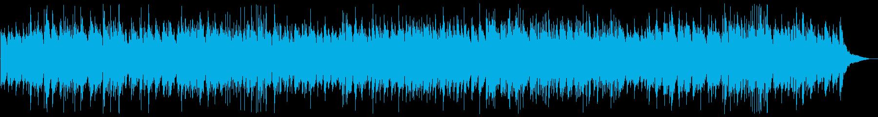 A farewell song Arranged by bossa nova's reproduced waveform