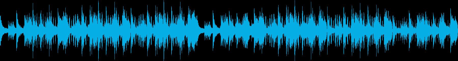 少し悲しげな爽やかピアノサウンドの再生済みの波形