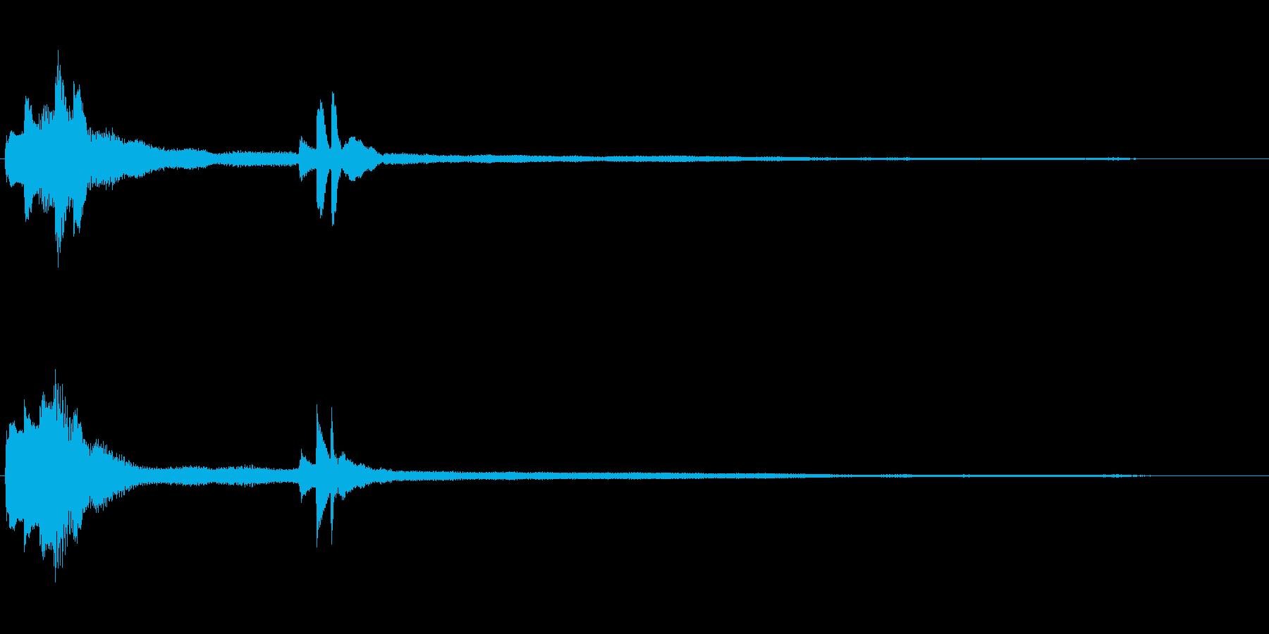 気づき(ピアノ・フレーズ)B1Hの再生済みの波形