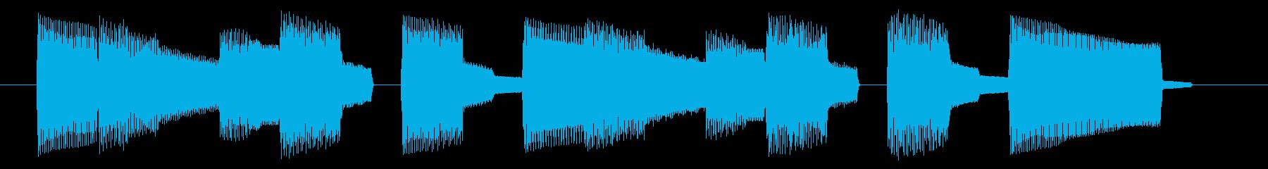 NES スポーツ A03-4(ミス2)の再生済みの波形