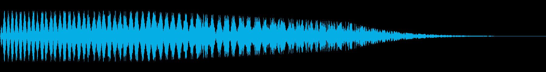 引き裂きスイーパー2の再生済みの波形