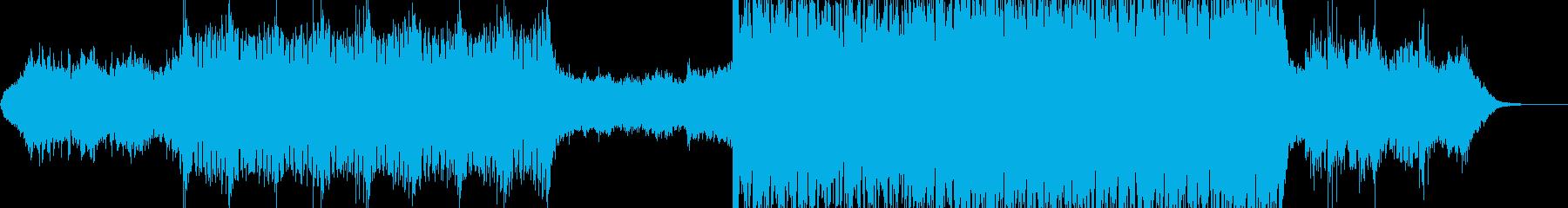 ヒーリング系エレクトロ風ポップの再生済みの波形