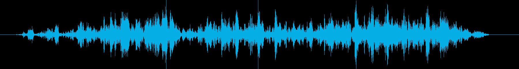 宇宙人 奇妙な音 宇宙語 の再生済みの波形