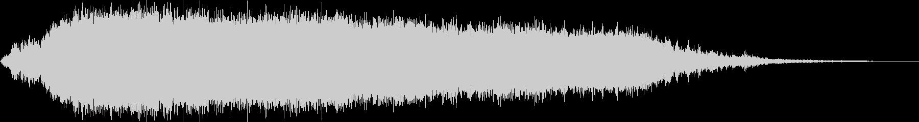 KANT怪獣の鳴き声Long2の未再生の波形
