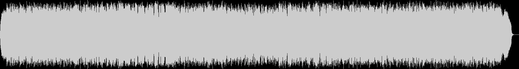力強く幻想的なケーナのニューエイジ音楽の未再生の波形