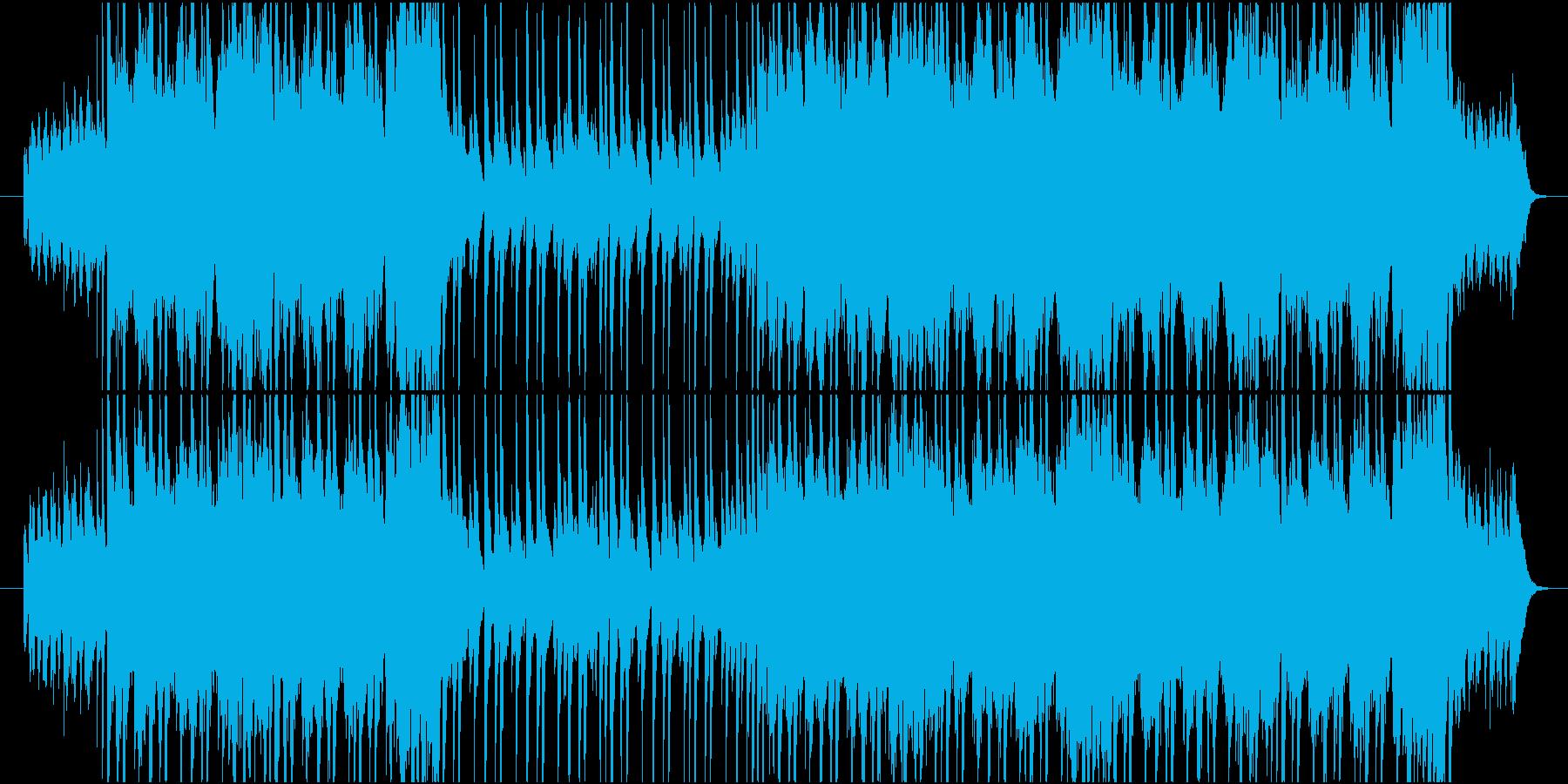 管・弦楽器をメインとした爽やかな楽曲の再生済みの波形