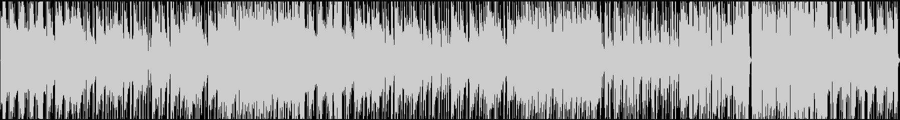 JAZZテイストぼHIPHOPの未再生の波形