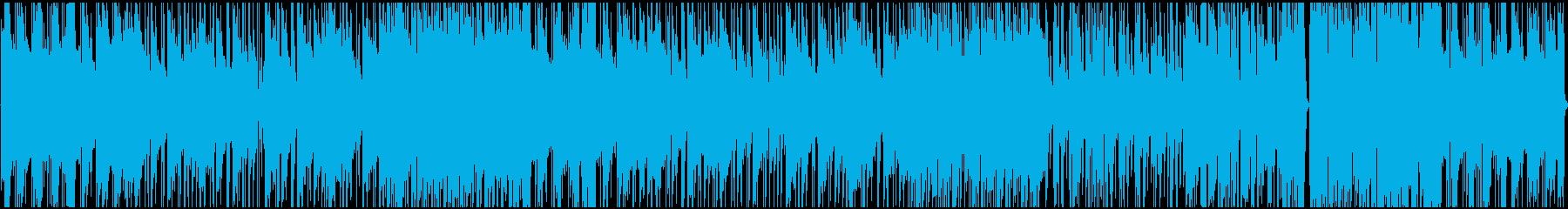 JAZZテイストぼHIPHOPの再生済みの波形