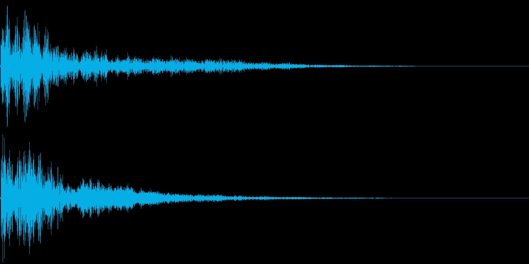 【トレーラー】ダンッッッ・・・の再生済みの波形
