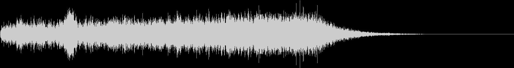 シューッという音EC07_73_3の未再生の波形