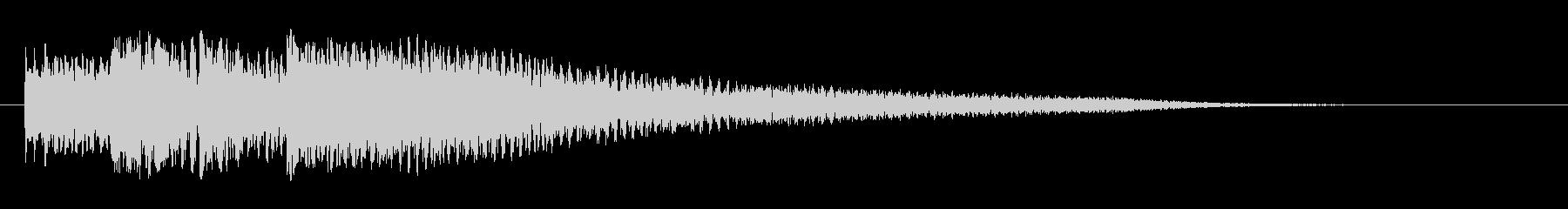 ガガガガーン サスペンス 衝撃 #1の未再生の波形