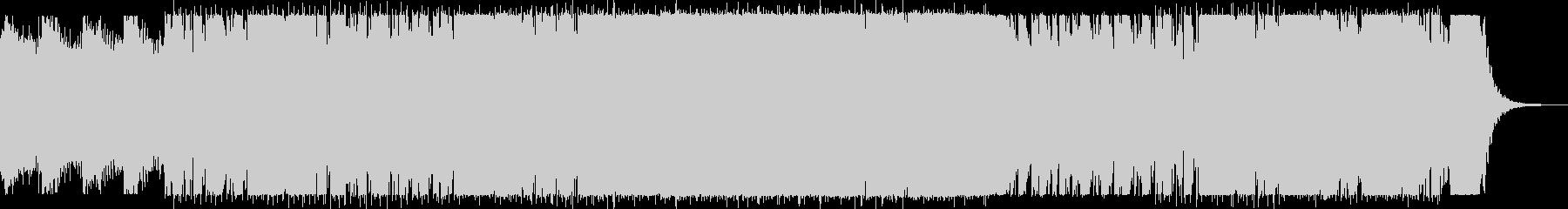 アパレル向けアンニュイで無機質なIDMの未再生の波形