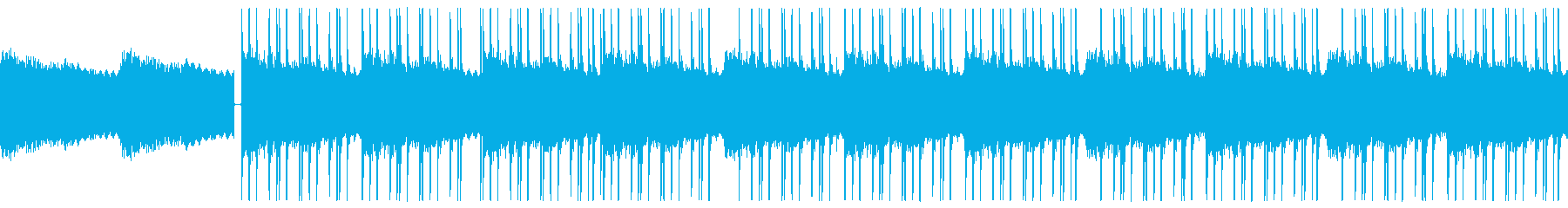 LO-FI/HIPHOPビートループ仕様の再生済みの波形