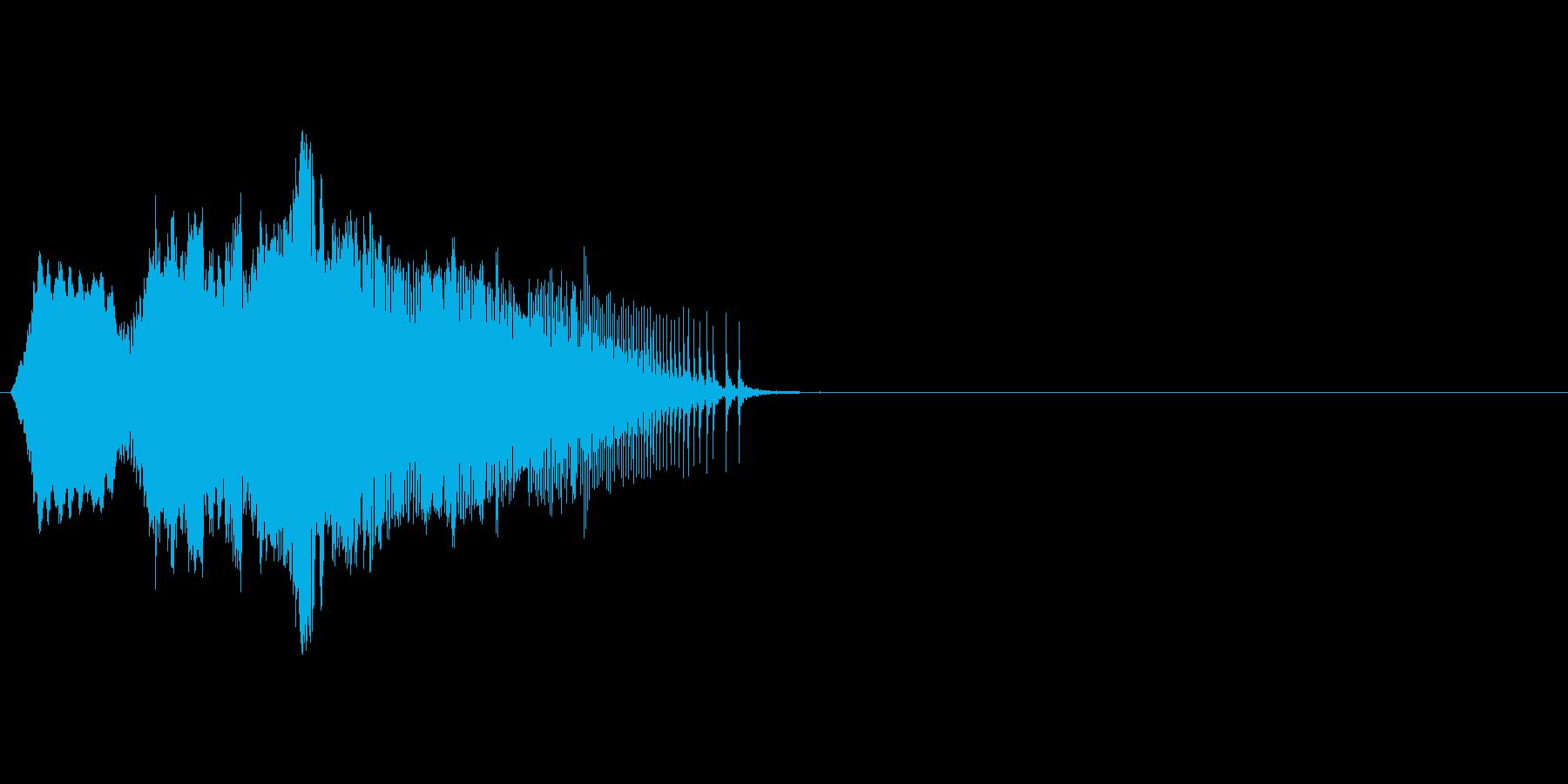 ドアがきしむ音_その2の再生済みの波形