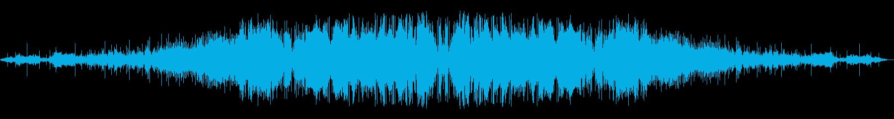 長いタービンハム:巻き上げ、実行、...の再生済みの波形