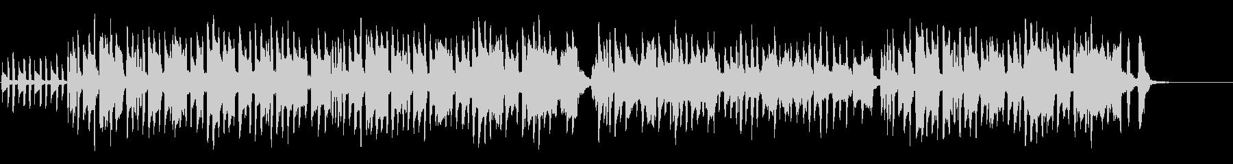 古風でシンプルなワルツの未再生の波形