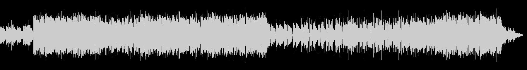 ドラムの音量を下げたバージョンの未再生の波形