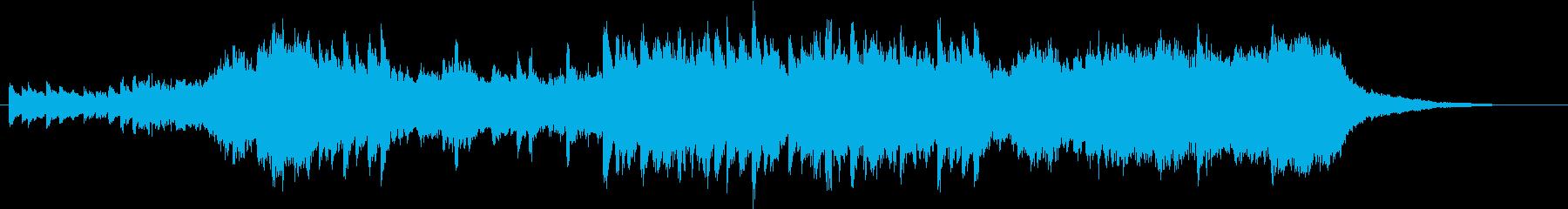 短縮版】感動、壮大感のあるピアノインストの再生済みの波形
