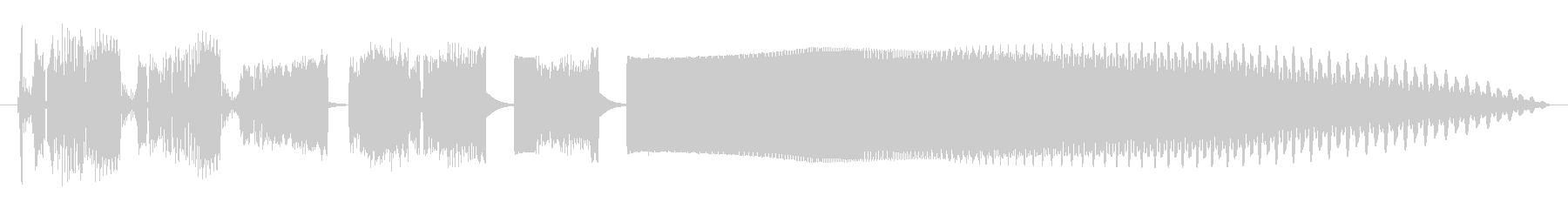 Electrozapperスワイプ5の未再生の波形