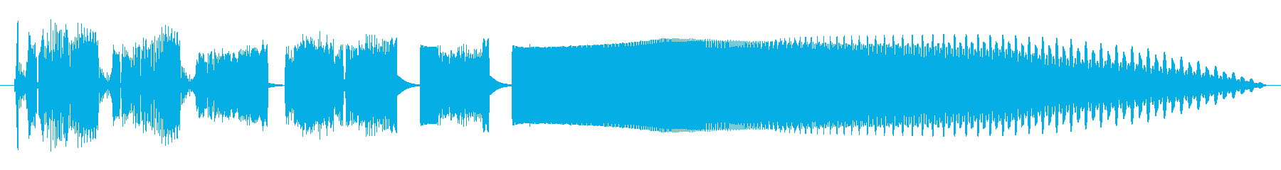 Electrozapperスワイプ5の再生済みの波形