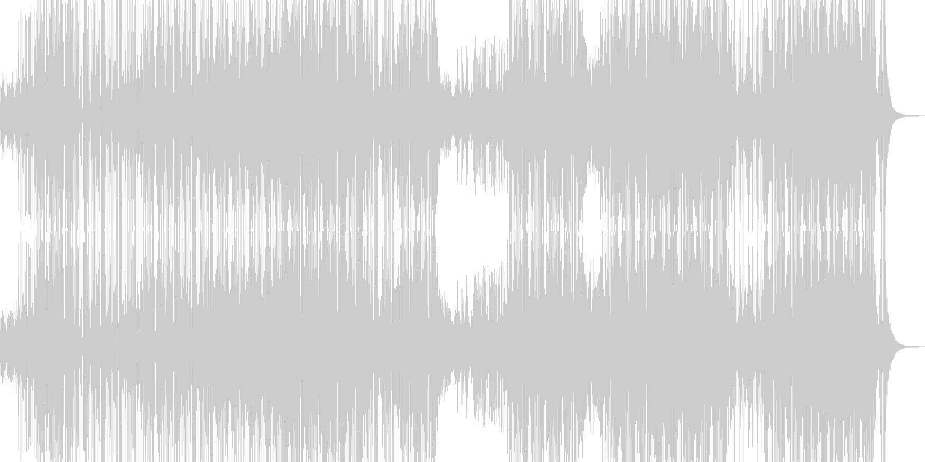 カラフルでユメカワなピコピコポップス Bの未再生の波形