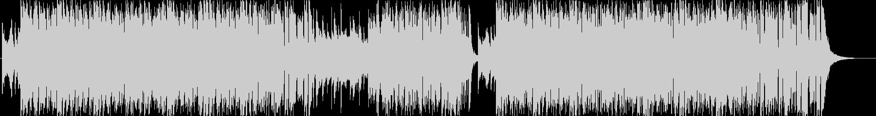 情熱的なノリノリラテン風サンバの未再生の波形