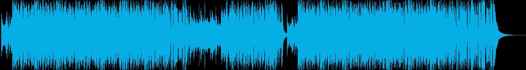 情熱的なノリノリラテン風サンバの再生済みの波形