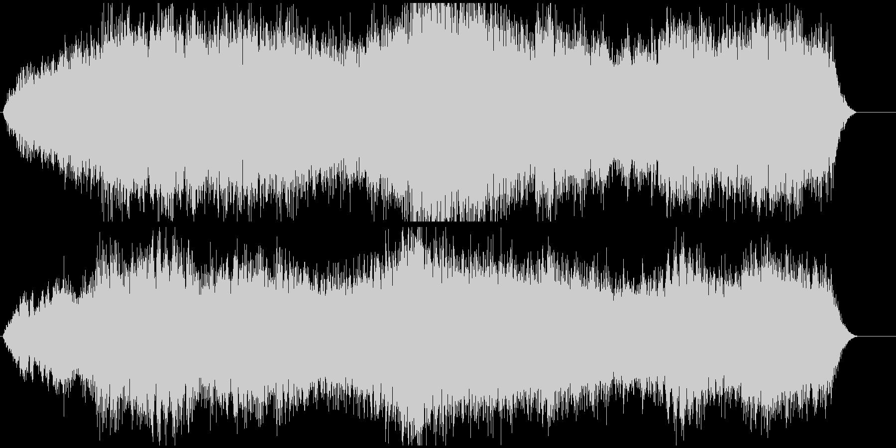 低音を重視して作成しました。の未再生の波形