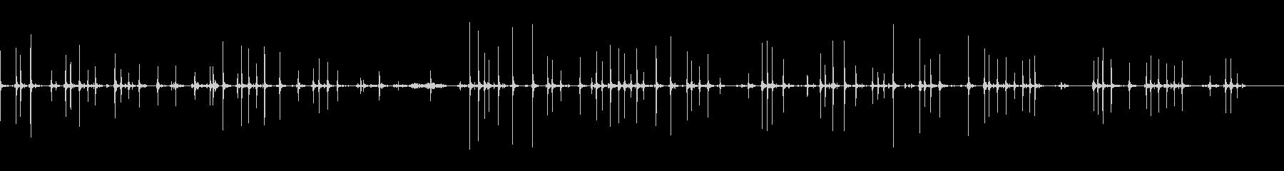タイプライター古いアンティークdの未再生の波形