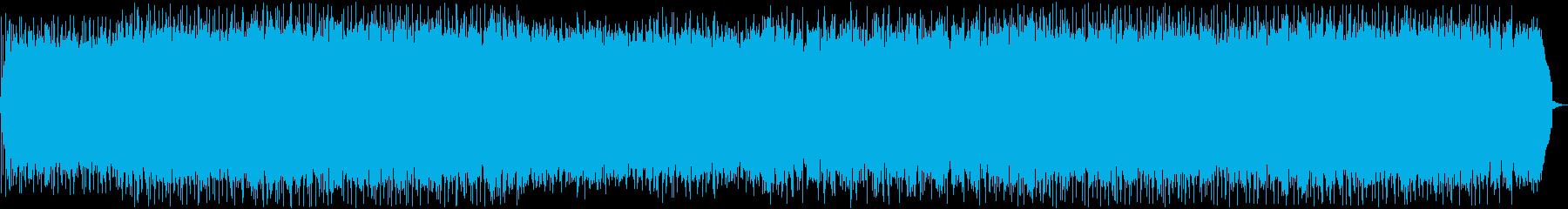 オープニング等にぴったりの明るい曲ですの再生済みの波形